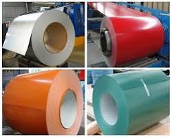 prepainted galvanised coils
